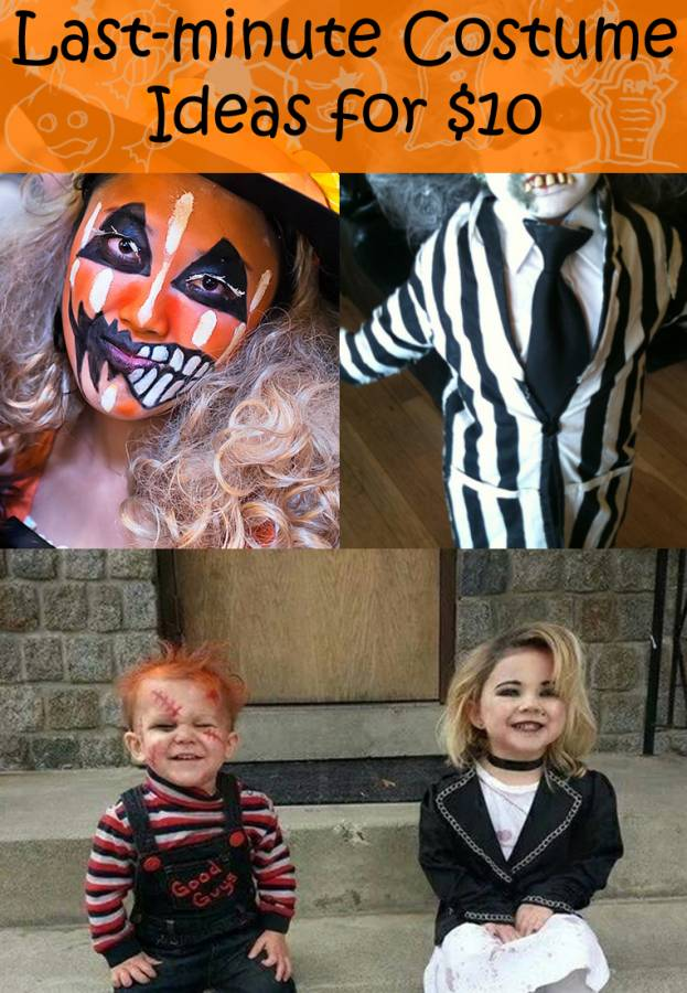 Don't settle for the leftovers at the store this year! How about a do it yourself Halloween costume? This is your year to sport a creative and frugal Halloween costume! Try any of these easy last minute Halloween costume ideas, and you'll be a hit!