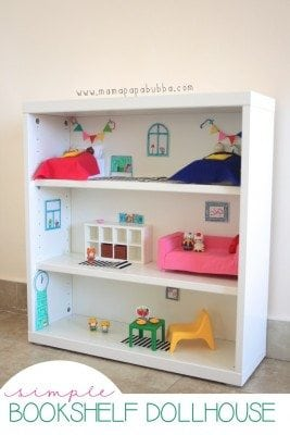 Bookshelf Dollhouse