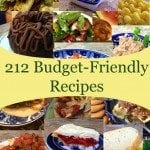The Budget Diet's Recipe Index