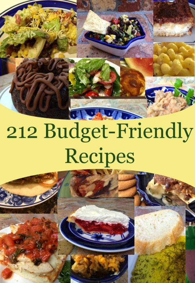 Enjoy The Budget Diet's Recipe Index – it's your source for frugalicious and fast recipes! These cheap and easy recipes are neatly categorized, so you can find exactly what you're looking for.