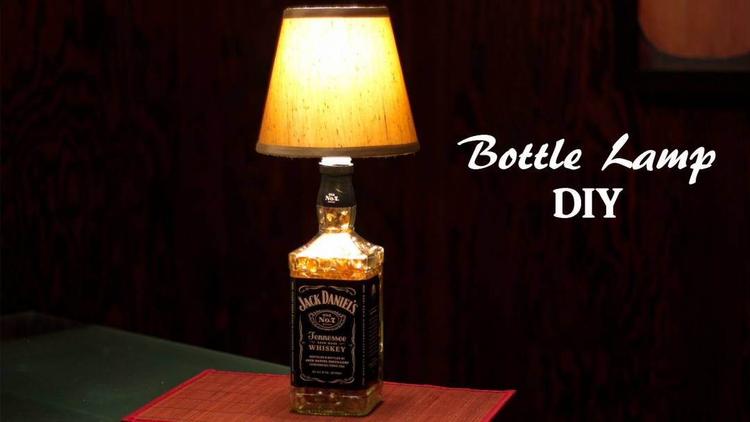 Do not put away those old bottles. You can recycle them and make them astonishing DIY bottle lamps.