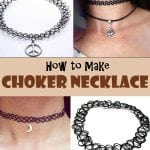 Lovely DIY Choker Necklace