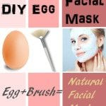 Diy egg facial mask