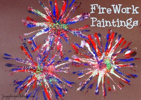 firework painting