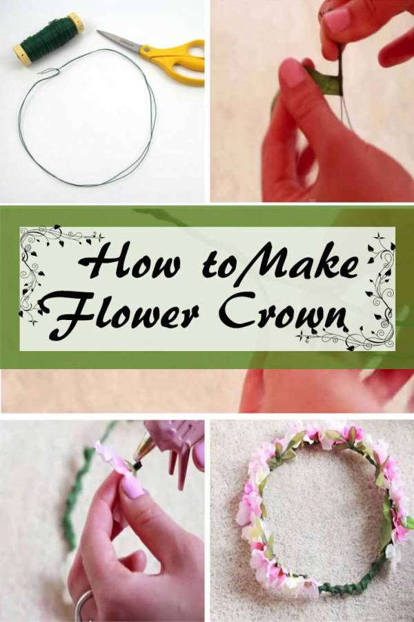 Be a princess with this pretty DIY flower crown. It will surely make a statement!