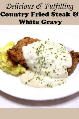 Country Fried Steak with White Gravy - Slap Ya Mama Good! - The Budget ...