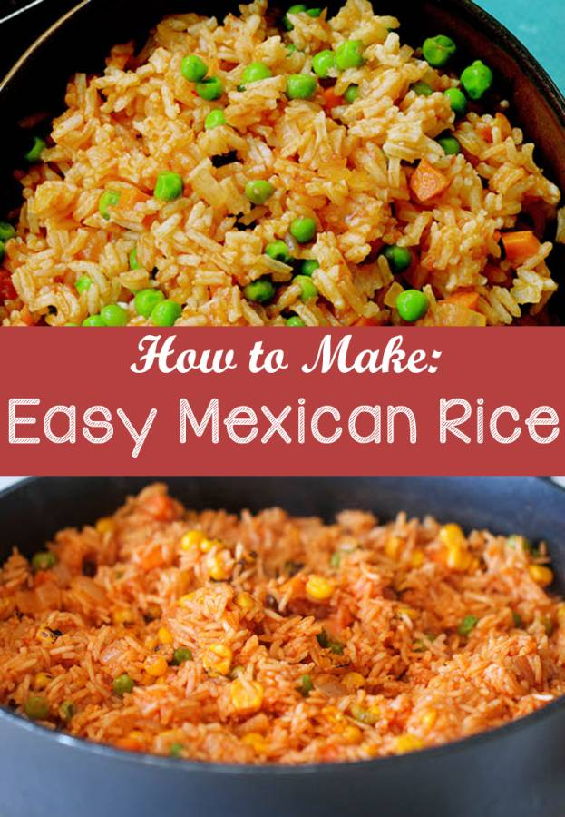 I'm a Texan, so Tex-Mex food is a must at least once a week in our house. Mexican Rice is the perfect and obligatory side dish, and it's so easy to make. Why waste money on those overpriced boxes of Mexican Rice when you can make your own for a fraction of the cost?