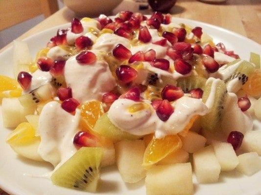Peaches salad