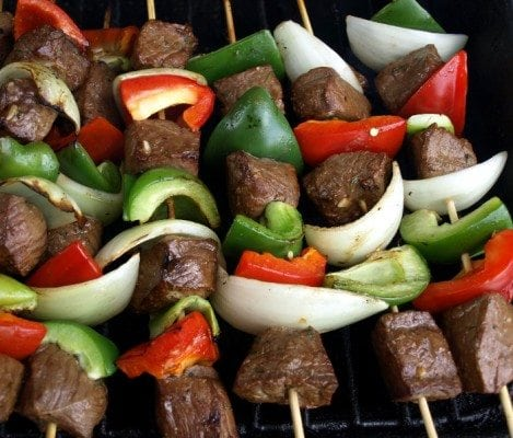 Shish-Kabobs tomatoes