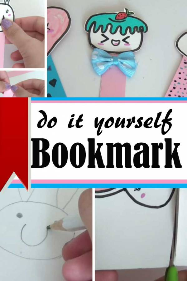 For book lovers, this is the perfect DIY! Create these adorable bookmarks made from basic materials and a bit of creativity.