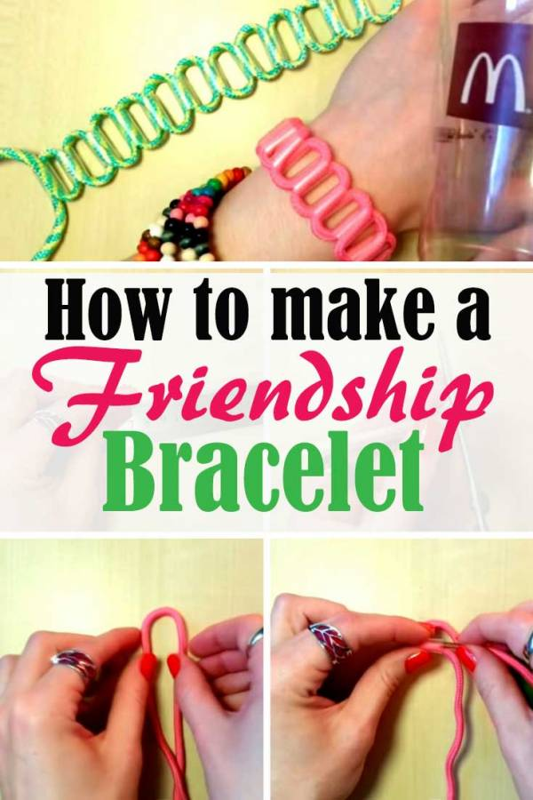Surprise your BFF with this DIY friendship bracelet. A pretty accessory for everyday clothing.