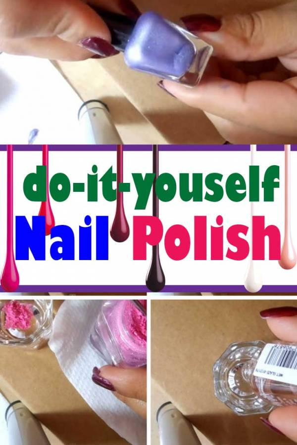 DIY Nail Polish: Paint your Nails Frugally and Beautifully - The ...