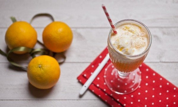 orange vanilla float