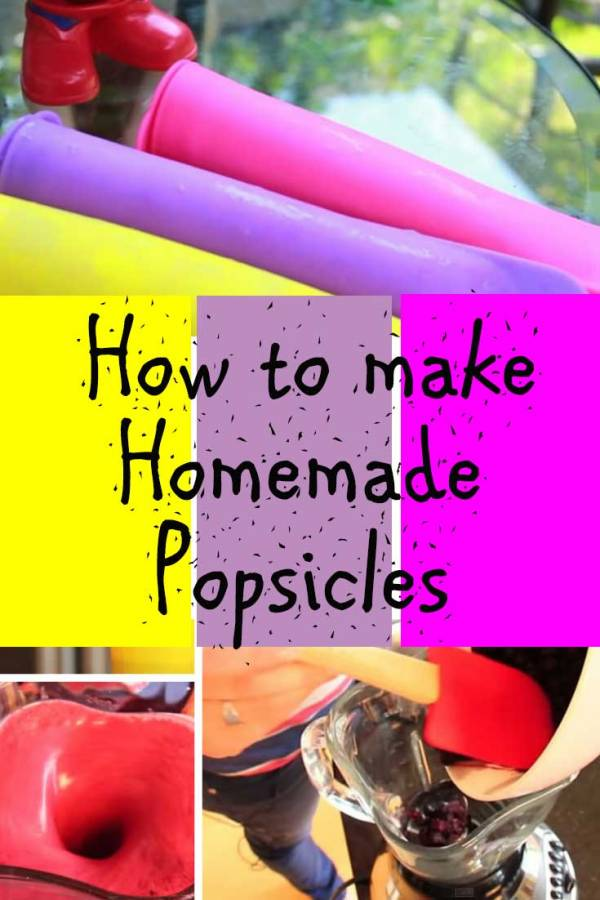 Beat the heat with these homemade popsicles of your favorite flavor. Kids can also help you out.