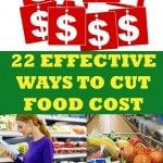 Resolution Solution – Cut Food Costs