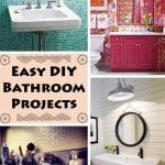 If you're on a tight budget, then you may be appalled to learn that a bathroom renovation can easily cost you $7,000 or more. Luckily for penny pinchers everywhere, there are easy DIY bathroom projects you can do to save money and enjoy a new bathroom.