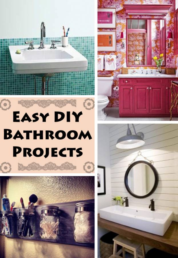 Diy Bathroom Projects 4 diy bathroom projects any penny pincher will love