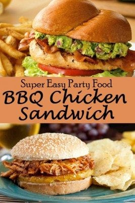 Too easy but super delicious BBQ chicken sandwich for dinner or party. So if you like burger as well as chicken, then you would love this meal. Enjoy the BBQ-flavored burger in just 10 minutes.