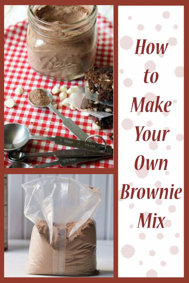 Stir together 5 simple ingredients and in less than 5 minutes you'll have enough brownie mix to make 7 pans of brownies! Did I mention that those 7 pans of brownies will cost less than $5 total!