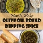 Olive Oil Bread Dipping Spice Recipe