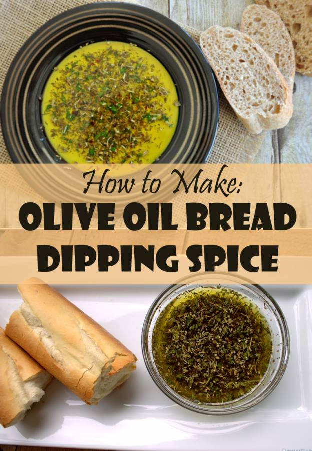 Olive Oil Bread Dipping Spice Recipe The Budget Diet