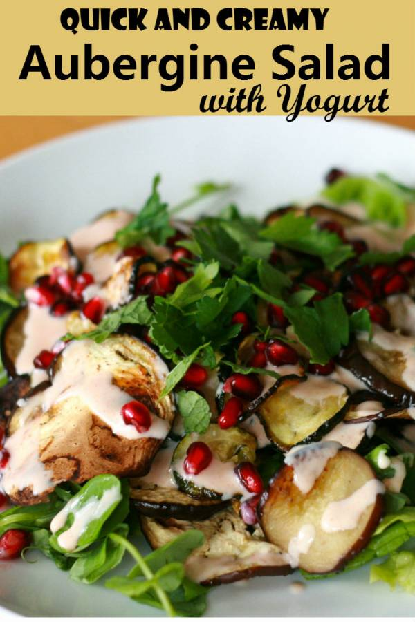 A refreshing salad topped with creamy, nutritious yogurt. The combination of eggplant and yogurt is perfect to be paired with any BBQ. A classic Turkish meal you will enjoy.