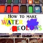 DIY Water Colors: Turn your Kid's Creativity into Splendid Splashes of Colors