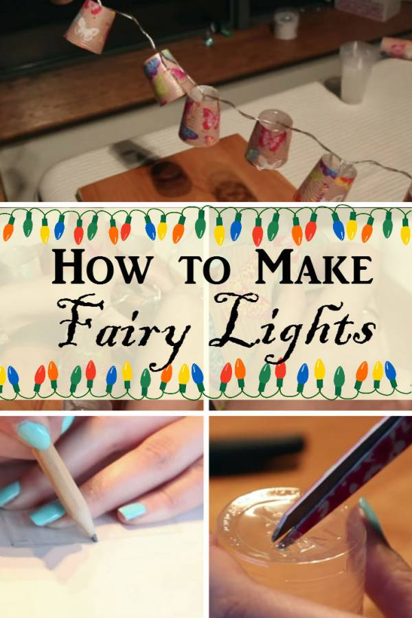 Bring happiness to your room with these DIY fairy lights. Simply adds a festive mood to your living space.