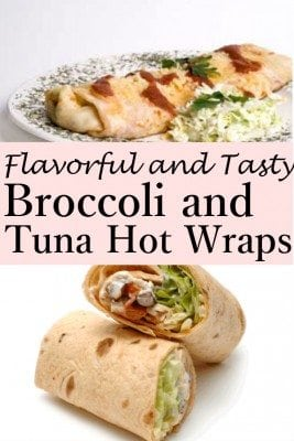 Delight your family or friends with Broccoli Tuna Hot Wraps. You can serve it as a main course or an entree. A healthy, crunchy and tasty meal that's surprisingly easy to make.