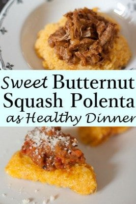 The sweetness of this Butternut Squash Polenta is simply undeniable! The combination of butternut squash and parmesan cheese brings a creamy flavor that your kids will adore. Love that comforting, creamy and richly flavored polenta!