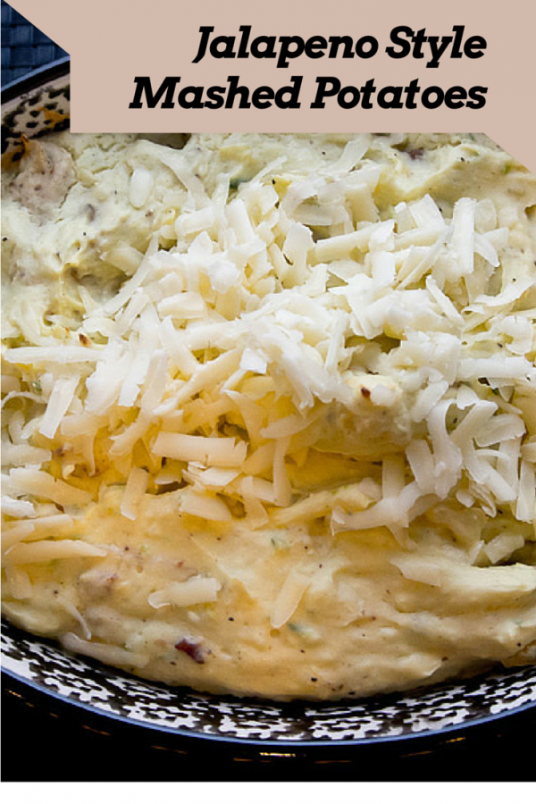 Bring a hot twist to the ordinary mashed potatoes with this recipe. Jalapeno Style Mashed Potatoes brings a new flavor to your table. Quick, easy and hot, hot.
