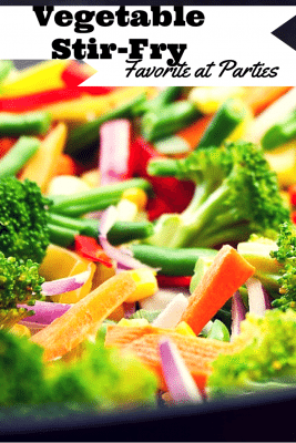 This vegetable stir-fry recipe results to a quick, easy and tasty meal that will definitely impress your guests. It is also great if you are planning a small gathering or picnic this weekend. A must-try healthy recipe for everyone!