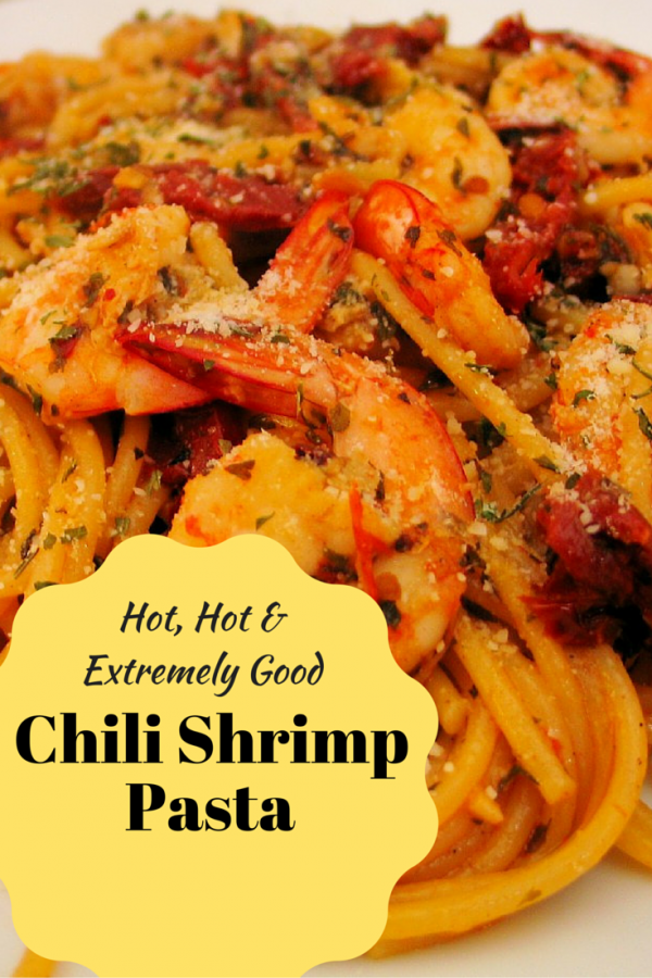Spice things up with Chili Shrimp Pasta! A simple and quick pasta that is full of flavorful elements that your taste buds will never forget. Best served when hot.