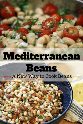 A yummy side dish that you can pair with beef or pork. Bring a Mediterranean twist to beans without hassle and without costing you much. Simply amazing appetizer!