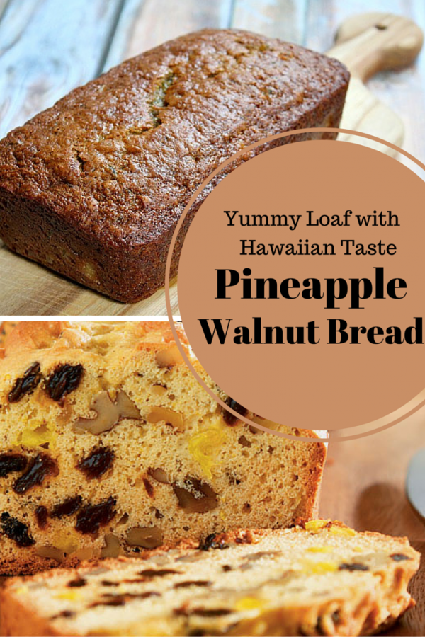 With crushed pineapples, this bread has pure Hawaiian taste that you will love. Have a slice and the taste is surely rewarding. A wonderful, fruity loaf in under an hour.