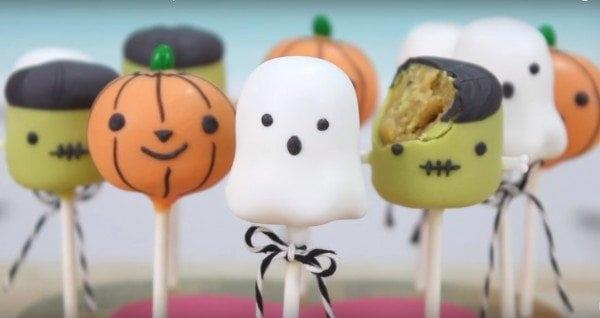 diy halloween cake pops