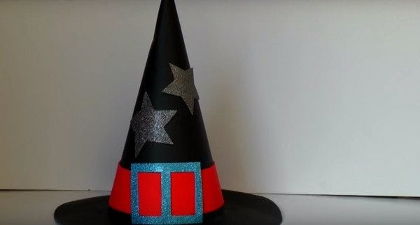 diy witch hat tutorial
