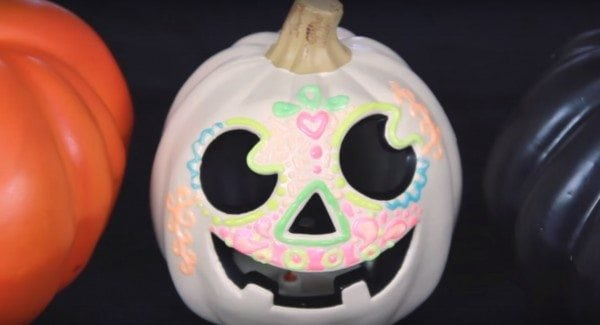 diy glow in the dark pumpkin