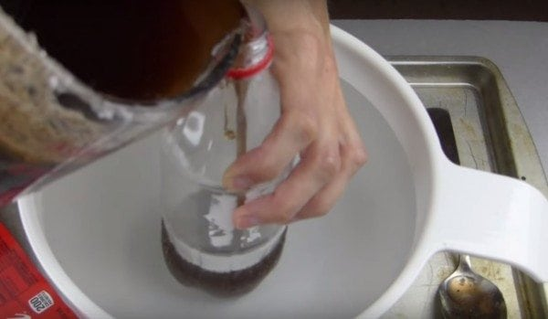 diy soap using soda bottle