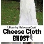 DIY Cheese Cloth Ghost: A Haunting Halloween Craft