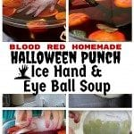 Homemade Halloween Punch – Icy Hand and Eye Ball Soup: An Bone-Chilling Refreshment
