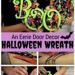 DIY Halloween Wreath: An Eerie Door Decor