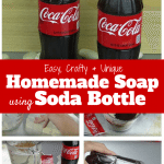 Homemade Soap using Soda Bottle: Easy, Crafty and Unique