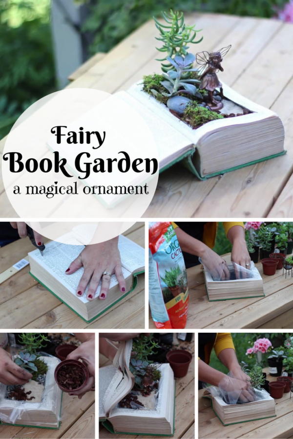 Simple, quick and eco-friendly. A DIY fairy garden book for green thumbs like you.