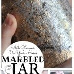 DIY Marbled Jar: Add Glamour to Your Home