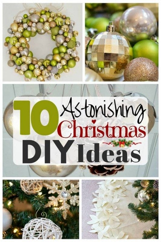 Christmas is in the air! Start decorating your home with these fascinating and super easy DIY ideas.