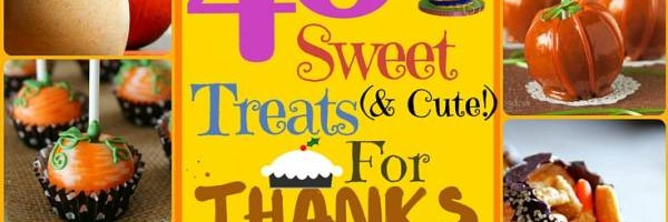 40 Sweet and cute Treats for Thanksgiving Day (1)