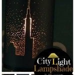 DIY City Light Lampshade: Brighten up the Room with a Beautiful Skyline