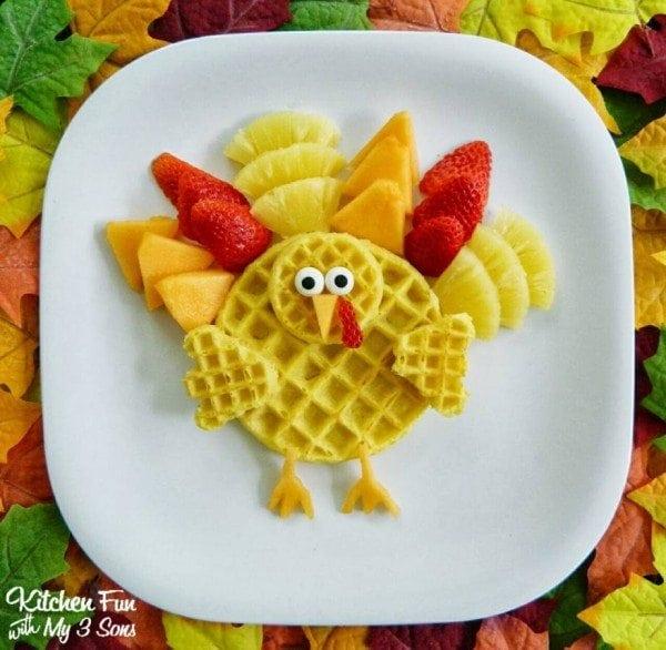 Eggo Waffle Turkey Breakfast _PM