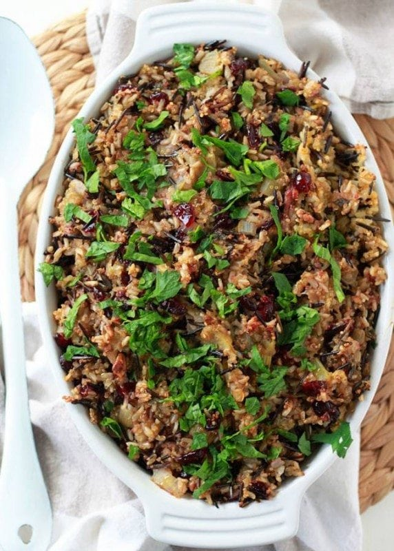 Herbed Wild Rice & Quinoa Stuffing
